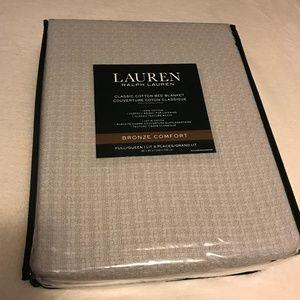 Lauren Ralph Lauren Bedding - Ralph Lauren Classic Cotton Full Queen Blanket